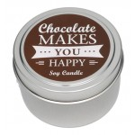 Candle Tin - Chocolate - New!
