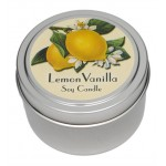 Candle Tin - Lemon Vanilla - New!