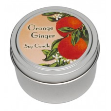 Candle Tin - Orange Ginger Fruit - New Look!