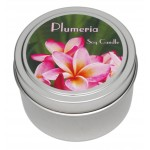 Candle Tin - Plumeria - New!