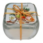 Glass Soy Candle - Tropical - NEW!