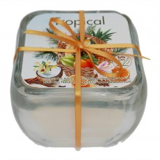 Glass Soy Candle - Tropical
