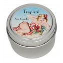 Candle Tin - Tropical