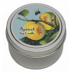 Candle Tin - Apricot