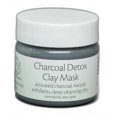 Facial Botanicals Charcoal Detox Clay Mask 1 oz. (all skin types)