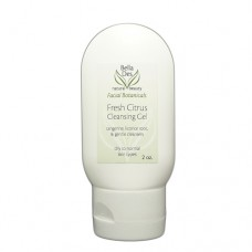 TESTER - Facial Botanicals Fresh Citrus Cleansing Gel 2 oz. (dry skin)