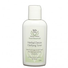 Facial Botanicals Herbal Detox Clarifying Toner 2 oz. (oily skin)
