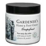 Gardener's Hand & Foot Cream - Grapefruit 4 oz.