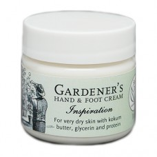 Gardener's Hand & Foot Cream - Inspiration 1 oz.