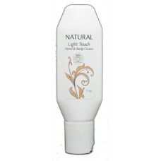Natural Light Touch Hand & Body Cream 1oz.