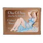 Oatmeal & Almond Pin-up Girl Soap - New Look!