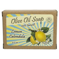 Lemon Calendula Retro Soap