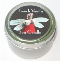 Candle Tin - French Vanilla