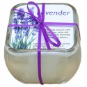 Glass Soy Candle - Lavender