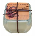 Glass Soy Candle - Patchouli-Champa