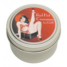 Candle Tin - Red Hot Cinnamon