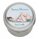 Candle Tin - Spring Showers - 40% off