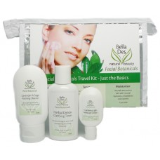 Facial Botanicals - Just the Basics - Travel Kit