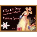 Holiday Spice Pin-up Girl Soap
