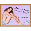Lavender Pin-up Girl Soap