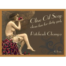 Patchouli Champa Pin-up Girl Soap