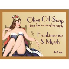 Frankincense & Myrrh Pin-up Girl Soap