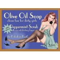Peppermint Scrub Pin-up Girl Soap