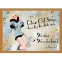 Winter Wonderland Pin-up Girl Soap